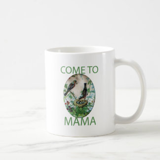 Venido a Mama.png Taza Básica Blanca