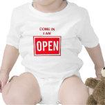 Venido adentro trajes de bebé
