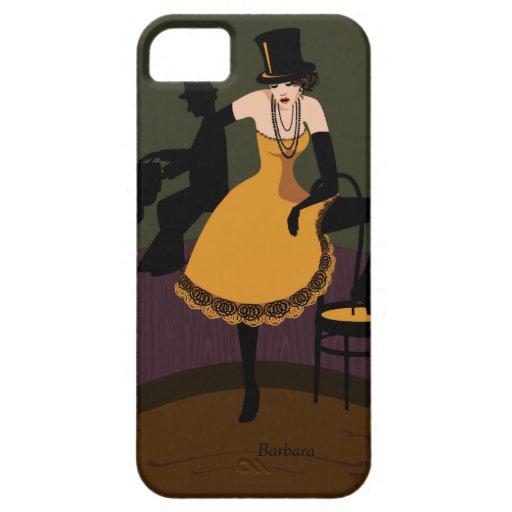 Venido al caso retro del iPhone 5 del cabaret iPhone 5 Fundas