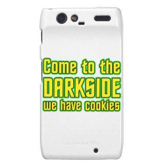 Venido al Darkside tenemos galletas Droid RAZR Funda