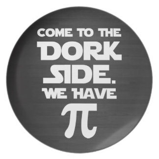 Venido al lado del Dork. Tenemos pi (empanada). Plato