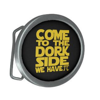 Venido al lado del Dork tenemos pi Hebillas De Cinturon Ovales