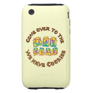 Venido al lado gay funda though para iPhone 3