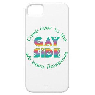 Venido al lado gay iPhone 5 fundas