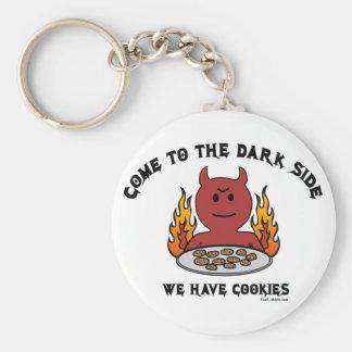 Venido al lado oscuro llaveros