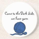 Venido al lado oscuro, tenemos hilado posavasos personalizados