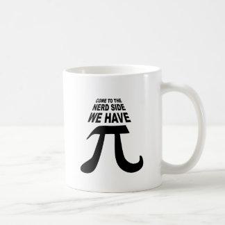 Venido al lado oscuro tenemos pi taza de café