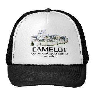 Venido consígale algún Camelot. Gorros Bordados