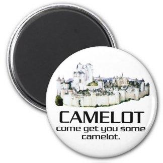 Venido consígale algún Camelot. Imán Redondo 5 Cm