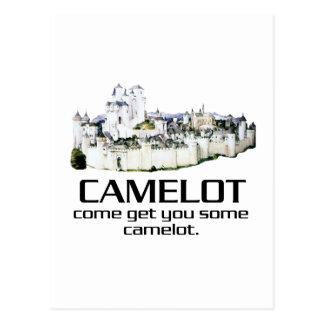 Venido consígale algún Camelot. Postal