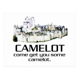 Venido consígale algún Camelot. Postales
