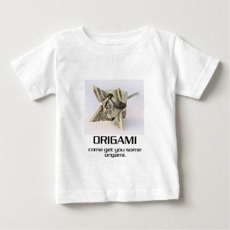 Venido consígale algún Origami Playera De Bebé