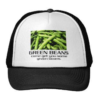 Venido consígale algunas habas verdes gorros