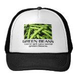 Venido consígale algunas habas verdes gorras