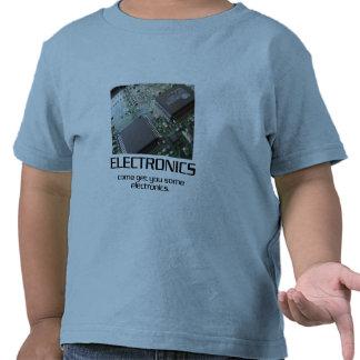Venido consígale una cierta electrónica camisetas