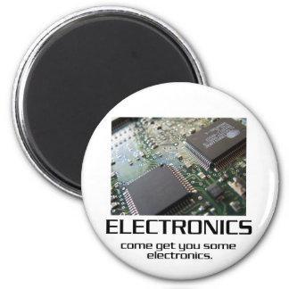 Venido consígale una cierta electrónica imán redondo 5 cm