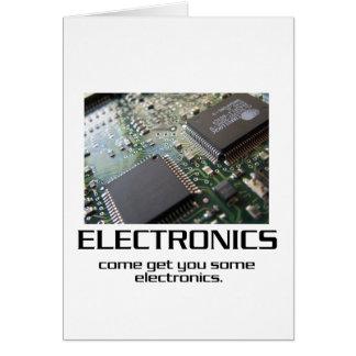 Venido consígale una cierta electrónica tarjeta de felicitación