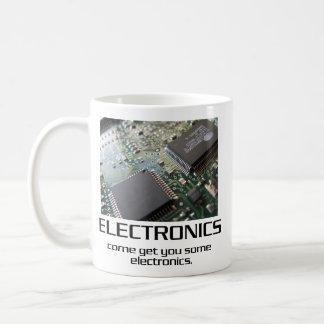 Venido consígale una cierta electrónica taza