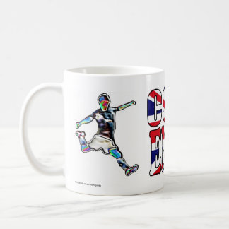 Venido en Inglaterra se divierte la taza BRITÁNICA
