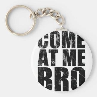 Venido en mí Bro Llavero Redondo Tipo Pin