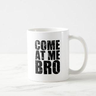 Venido en mí Bro Taza Básica Blanca