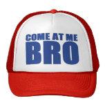 VENIDO EN MÍ gorra del camionero de BRO (azul y ro