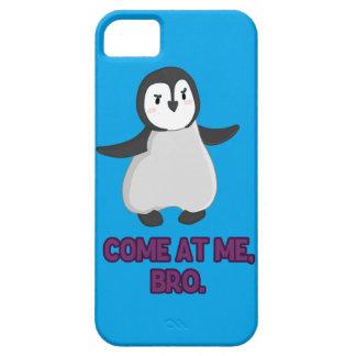 Venido en mí, pingüino de Bro iPhone 5 Fundas