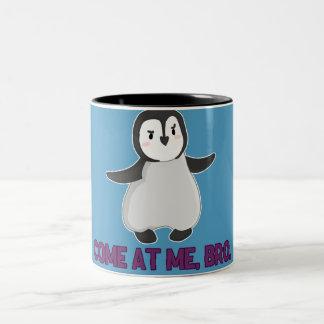 Venido en mí, taza del pingüino de Bro