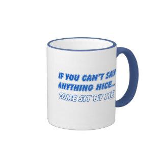Venido siente por mí la taza