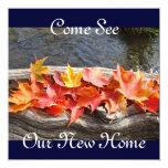 Venido vea nuestra casa abierta de la nueva comunicado personal