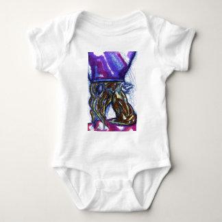 Venimos de otros mundos body para bebé