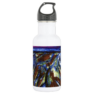 Venimos de otros mundos botella de agua