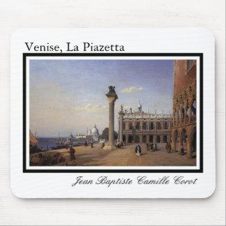 Venise cojín de ratón de Piazzetta del La Alfombrillas De Raton