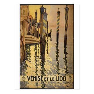 Venise et le Lido 1920 Venice, Italy Postcard