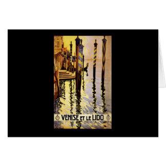 Venise et le Lido Card