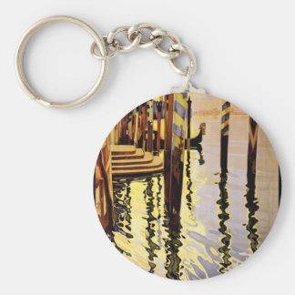 Venise et le Lido Keychain