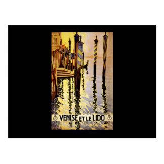 Venise et le Lido Postcard