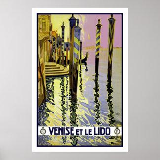 Venise et le Lido Poster