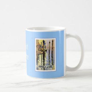Venise Et Le Lido Vintage Coffee Mug