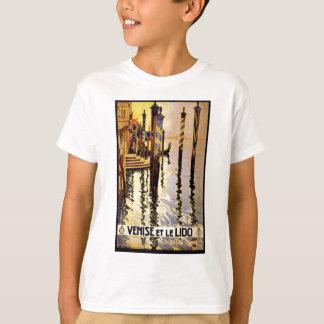 Venise et le Lido Vintage Travel Poster T-Shirt