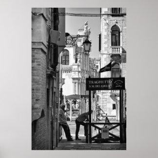 Venise scenes - Poster