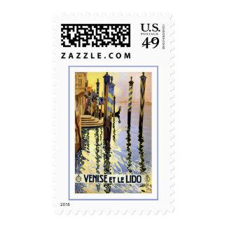Venise Venice Et le Lido Italy Postage