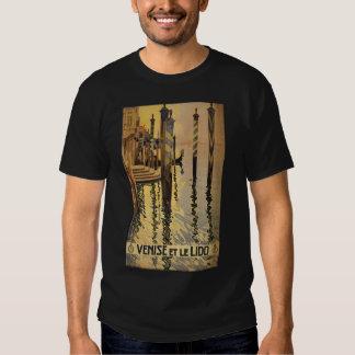 Venise y le Lido 1920 Venecia, Italia Remeras