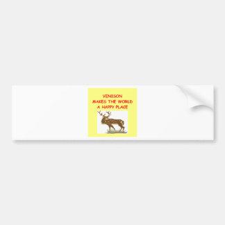 venison bumper stickers