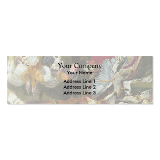 Venison dealers by Frans Snyders Business Card Templates