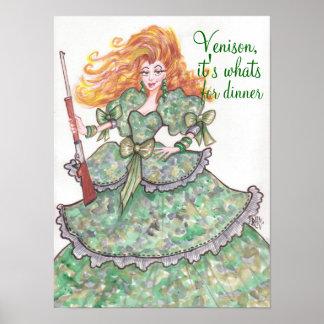Venison-Poster Poster