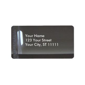 Venitian Blind Address Label