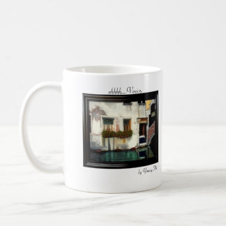 Venitian Cafe, ahhhh....Venice., by Young Mi Coffee Mug
