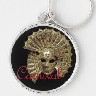Venitian Carnival Mask Keychains
