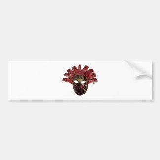 venitien mask bumper sticker